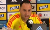El arquero de la Selección Colombia, David Ospina.