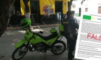 Un nuevo falso panfleto está circulando en Santa Marta para generar temor.