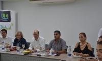 Alcalde encargado de Santa Marta visita la UCC