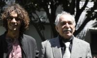 Mateo García Elizondo junto a su abuelo Gabriel García Márquez (QEPD)