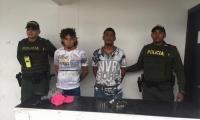 Los detenidos fueron trasladados bajo estrictas medidas de seguridad hasta las instalaciones de la URI de la Fiscalía de Santa Marta.