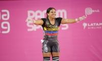 La samaria se subió a lo más alto del podio panamericano.