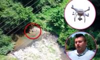 Colombiano y su dron