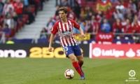 El lateral samario extendió su vínculo con el cuadro 'Colchonero' hasta el 2022.