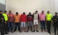 Cae banda en Barranquilla