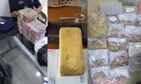 Descubierta red criminal señalada de traficar con grandes cantidades de oro y joyería.