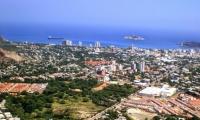 Panorámica de Santa Marta
