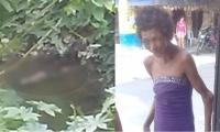 Mujer que fue hallada muerta en el río Manzanares.