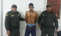 El presunto asaltante fue identificado como Jhonny Kevin Acosta De La Cruz.