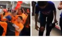 Agresiones entre simpatizantes de Fuerza Ciudadana y Magdalena Gana.