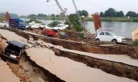 Daños en Pakistán por terremoto.