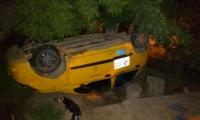Accidente en el barrio 20 de Octubre