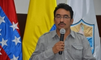 El secretario de Salud Departamental, Jorge Bernal.