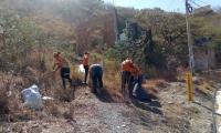 Limpieza en Taganga