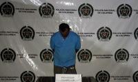 El capturado fue identificado como Pedro Acevedo Mantilla, de 49 años de edad.