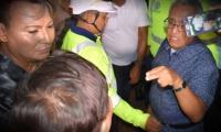 Adolfo Bula, en actos homofóbicos en febrero de 2019.
