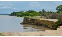 Erosión en Salamina.