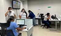 Funcionarios de la Alcaldía estarán también atendiendo a la población.