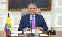 el anuncio lo hizo el presidente Iván Duque.