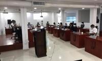La sesión del Concejo de Santa Marta no duró más de 15 minutos.