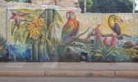 Murales en el Centro Histórico de Santa Marta.