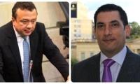 Los congresistas Eduardo Pulgar (izquierda) y Luis Eduardo Díaz Granados (der), fueron involucrados en un caso de corrupcón.