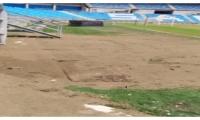 El estadio albergó la inauguración de las justas y aún no ha sido entregado a la Alcaldía.
