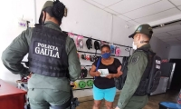 Actividades de la Policía del Magdalena.