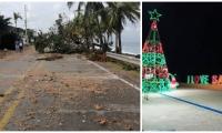 Polémica en San Andrés por contrato para la iluminación navideña.