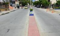 La avenida del Río, entre carrera 5 y avenida del Ferrocarril, fue una de las vías intervenidas en 2019