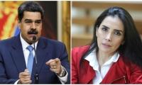 Presidente de Venezuela, Nicolás Maduro y Aida Merlano