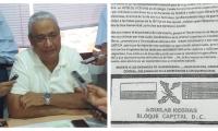 El secretario de Educación del Magdalena fue amenazado por las Águilas Negras, Bloque Capital.