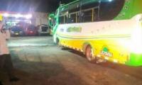 El intento de hurto se presentó en un bus de la empresa Lusitania.