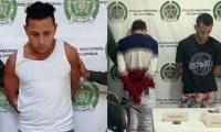 Capturados en Nueva Granada y Fundación.