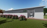 Este laboratorio tendrá un área aproximada de 260 m2 y se proyecta como un espacio que soportará el desarrollo agrícola y científico de la región.