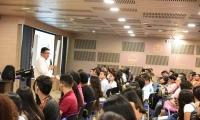 El encuentro con los estudiantes se constituye en el quinto de la iniciativa señalada luego de haberse realizado el mismo ejercicio con el personal administrativo, docentes de planta, ocasionales y catedráticos.