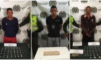 Según la Policía del Magdalena los capturados son conocidos en la zona como grandes expendedores de droga.