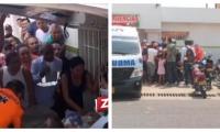 Los hombres asesinados quedaron identificados como Héctor Francisco Pestaña Bermúdez, de 46 años, de Malambo y Juan Bautista De la Hoz Rojas, de 47 años, natural de Fundación.