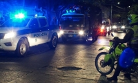 Policía de Santa Marta.