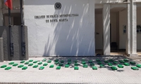 La Policía señala que el cargamento pertenecería a los 'Pachenca' y estaría bajo la custodia de alias 'Tarran'.