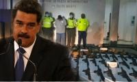 Nicolás Maduro aseguró que el material iba a ser usado en su país.
