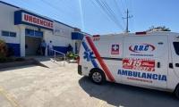 El presunto delincuente fue llevado en primera instancia por la Policía al centro de salud Agrupasalud.