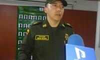 El coronel Óscar Fabián Solarte.