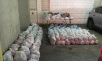 Los mercados son entregados en las casas de las familias identificadas.