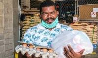 Las familias han sido beneficiadas con ayudas alimentarias.