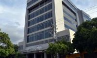 Edificio de la cámara de comercio.