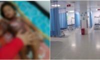 La pequeña estuvo del 'timbo al tambo' y por fin pudo ser trasladada al hospital Julio Méndez Barreneche.