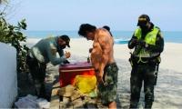 Operativos en playas de la ciudad.