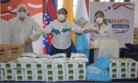 Donación de Ecopetrol al Distrito.