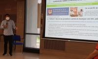 Pablo Vera, durante la intervención en redes sociales.